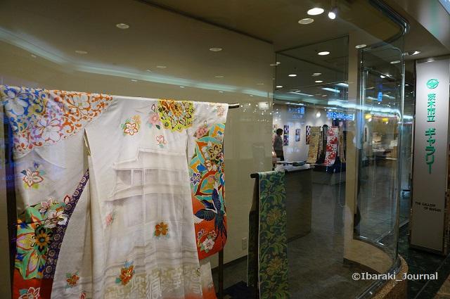 茨木市立ギャラリーで着物展示DSC03511
