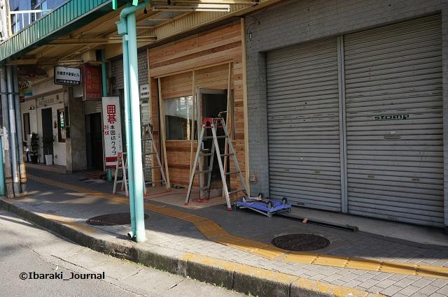JR茨木東側で工事居酒屋らしいDSC03116