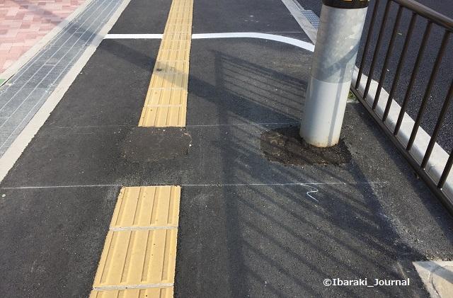 2018年3月阪急総持寺への歩道工事跡IMG_2108