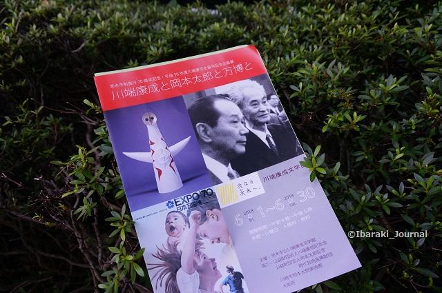 川端康成と岡本太郎展チラシDSC05072
