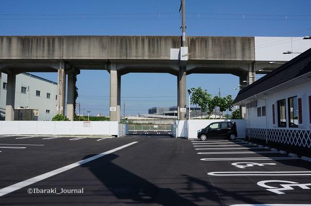くら寿司の駐車場DSC05024
