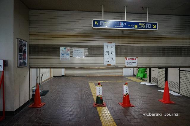 阪急東出口は通行禁止DSC05486