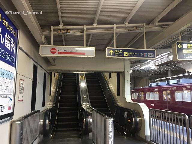 南茨木京都方面エスカレーターIMG_3522