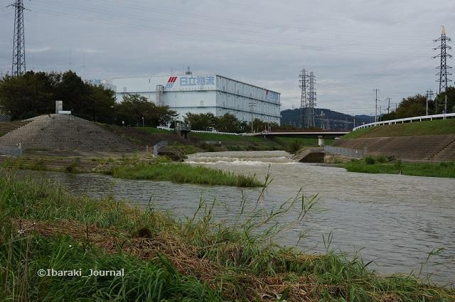 9月8日安威川の合流するところDSC06126