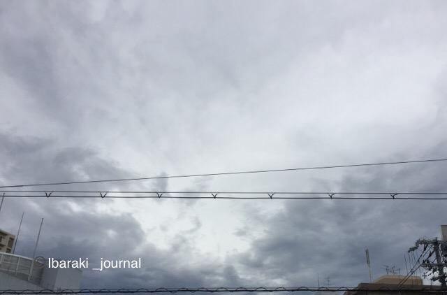 9月4日茨木の空