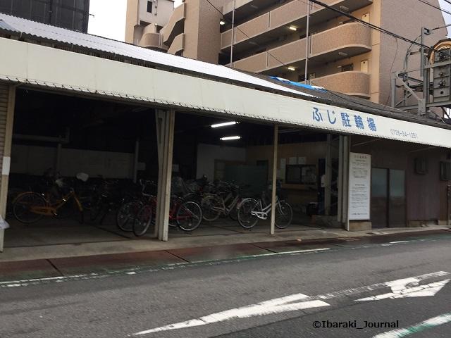 阪急ふじ駐輪場外観IMG_4720