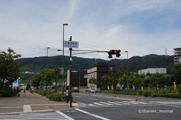 彩都西駅前交差点DSC06451