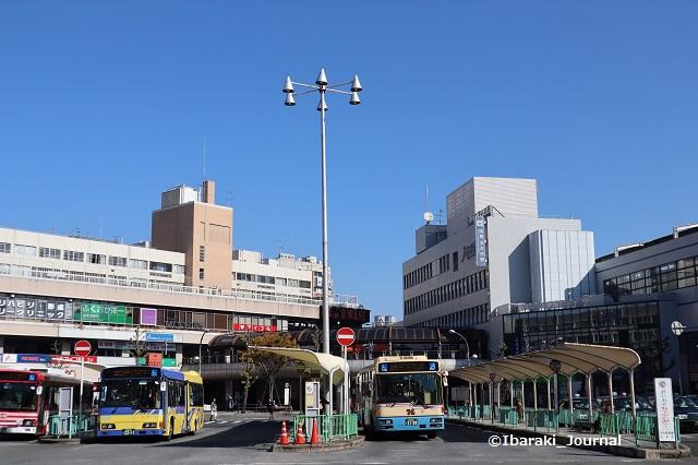 阪急茨木市駅前ロータリーIMG_7130
