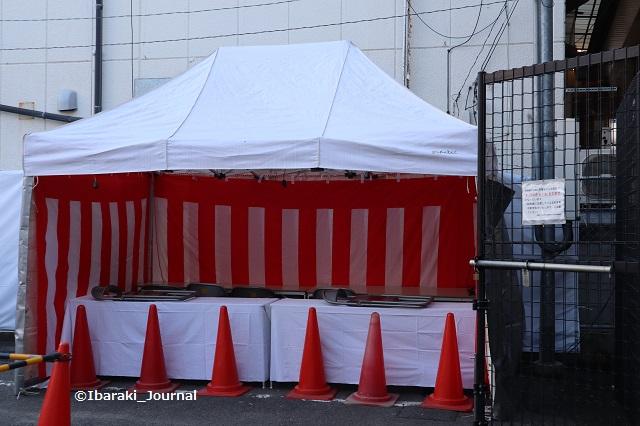 阪急本通歳末セールの抽選会場IMG_7445