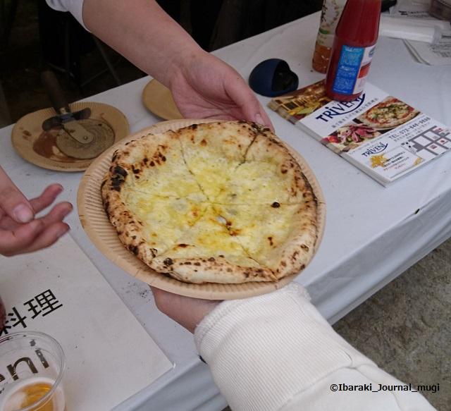 茨木市民さくらまつりTriveniピザ