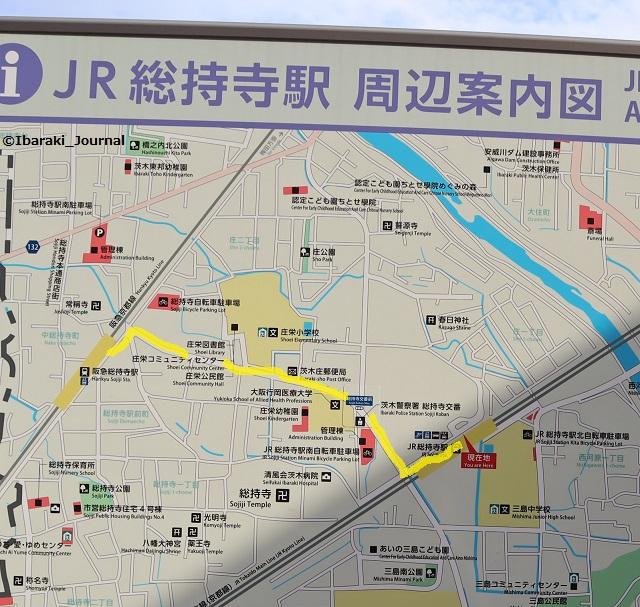 JR総持寺と阪急の間の道IMG_9267