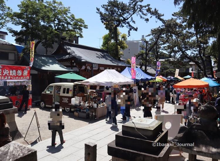 1-4020ガンバる市茨木神社の様子IMG_9544