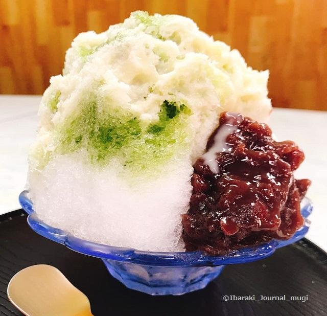 福原商店かき氷抹茶