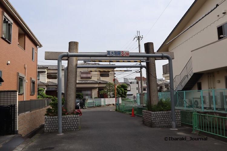 佐奈部神社の鳥居北側から見るIMG_0018