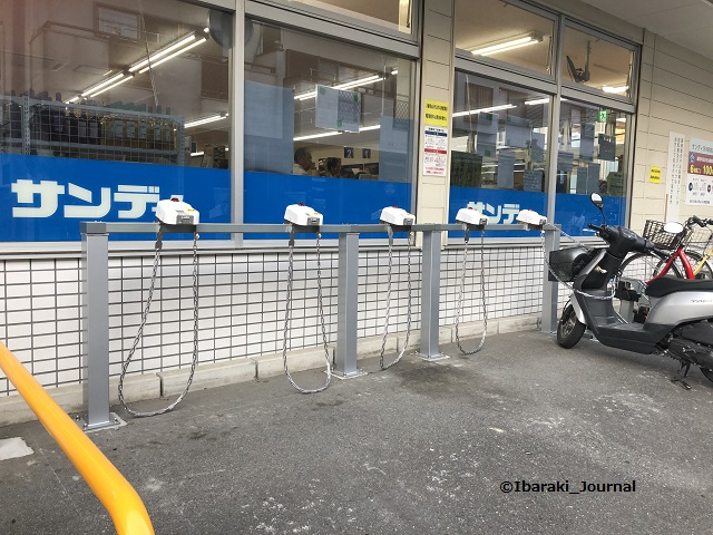 JRサンディバイク置き場IMG_7677
