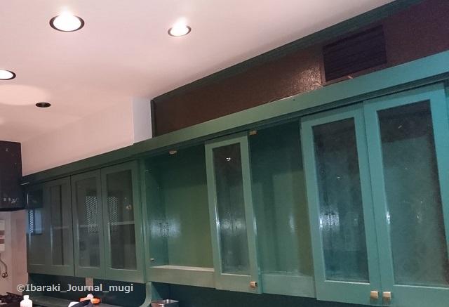 阪急茨木東の新カフェ内装工事中