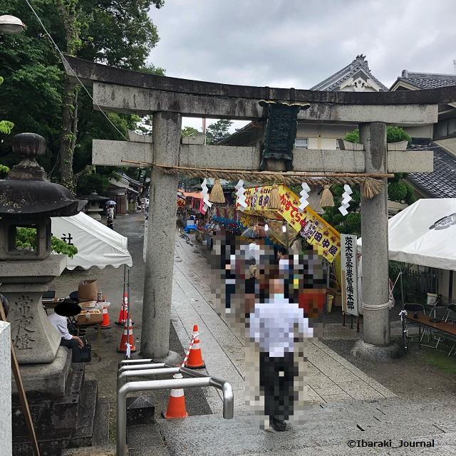 茨木神社のお祭り1