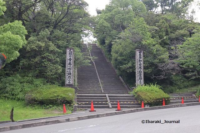 茨木辯天の通行禁止の階段IMG_0211