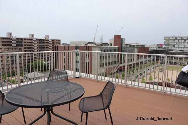 ソーシャルアパートメント屋上から見る立命IMG_9909