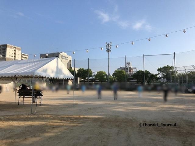 2019 年8月10日ラジオ体操北グラウンド
