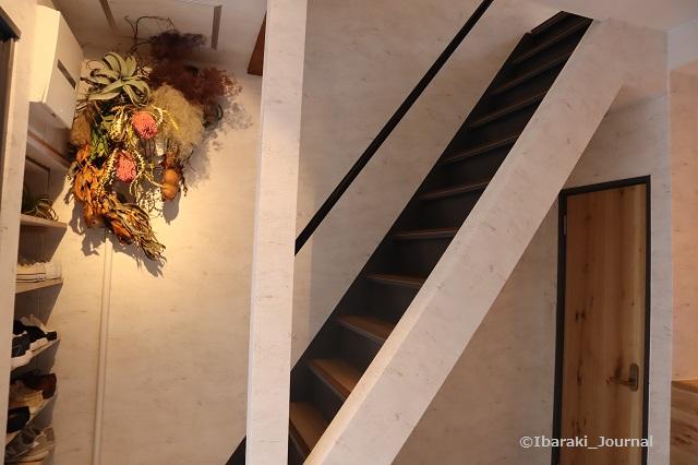 お茶とお花とモンブランの階段IMG_0810