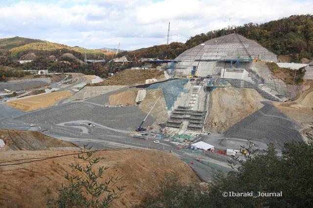 安威川ダム工事風景IMG_1331