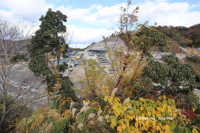 安威川ダム工事の様子も見えるIMG_1240