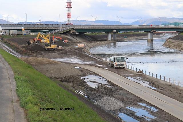 20191220あけぼの橋より北側の工事IMG_1537