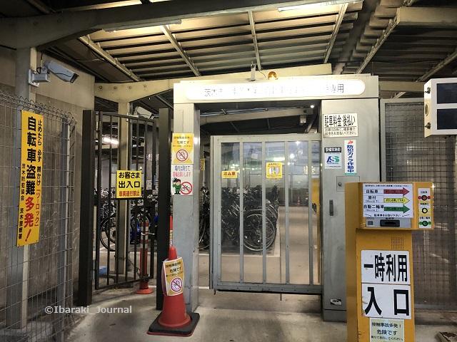 20191227阪急南茨木駅前駐輪場入り口IMG_1193