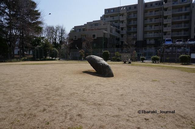20140319東中条公園にあった岩