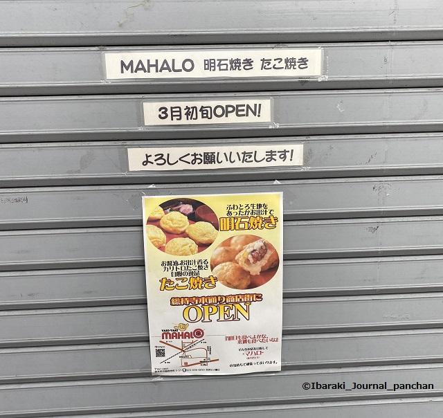 4たこ焼きマハロ看板とポスター4
