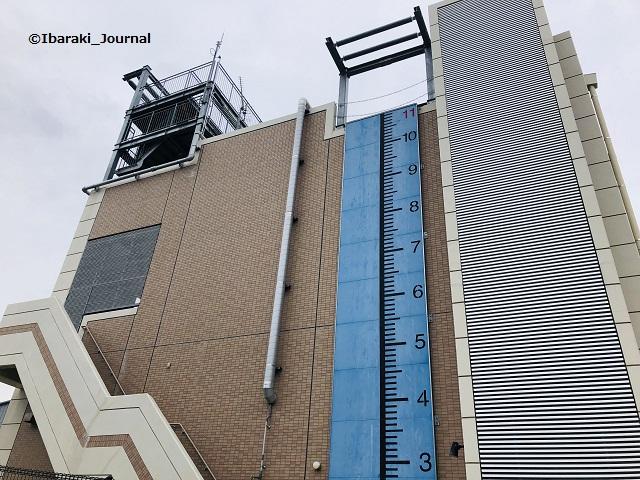 西河原消防署の壁面IMG_2997