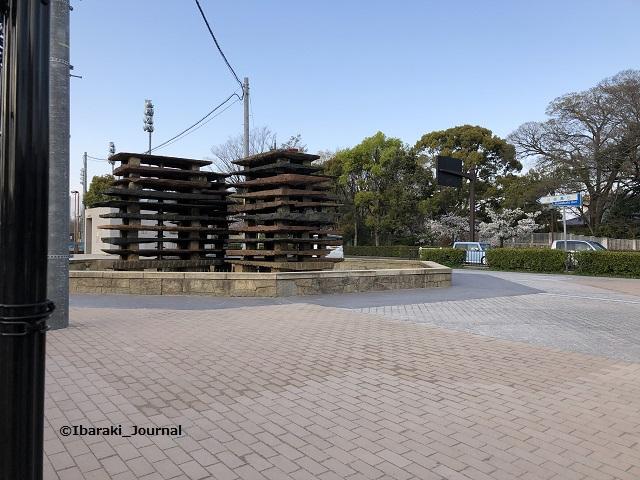 市民会館前噴水のところ202004IMG_3046