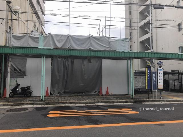 20190709kkJR茨木ファミマ跡立て壊しIMG_8230