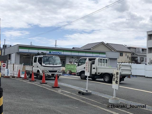 小川町のファミリーマート工事IMG_4025