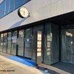 新しいビルの時計IMG_4465
