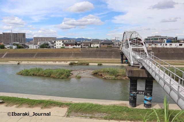 0716千歳橋あたりから安威川1IMG_3794