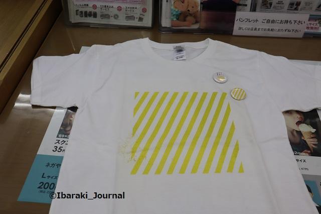 パレットプラザで黄色ストライプのTシャツIMG_4086