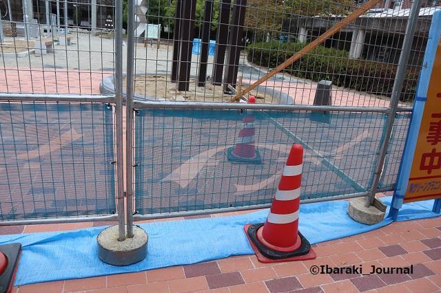 0920クリエイトセンター前工事の地面IMG_4660