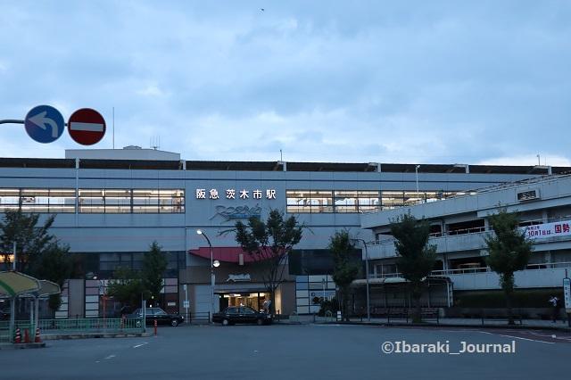 0923阪急茨木市の夜明けごろIMG_4779