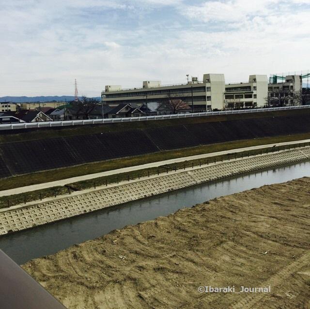 20160217記事安威川五十鈴橋からimage4