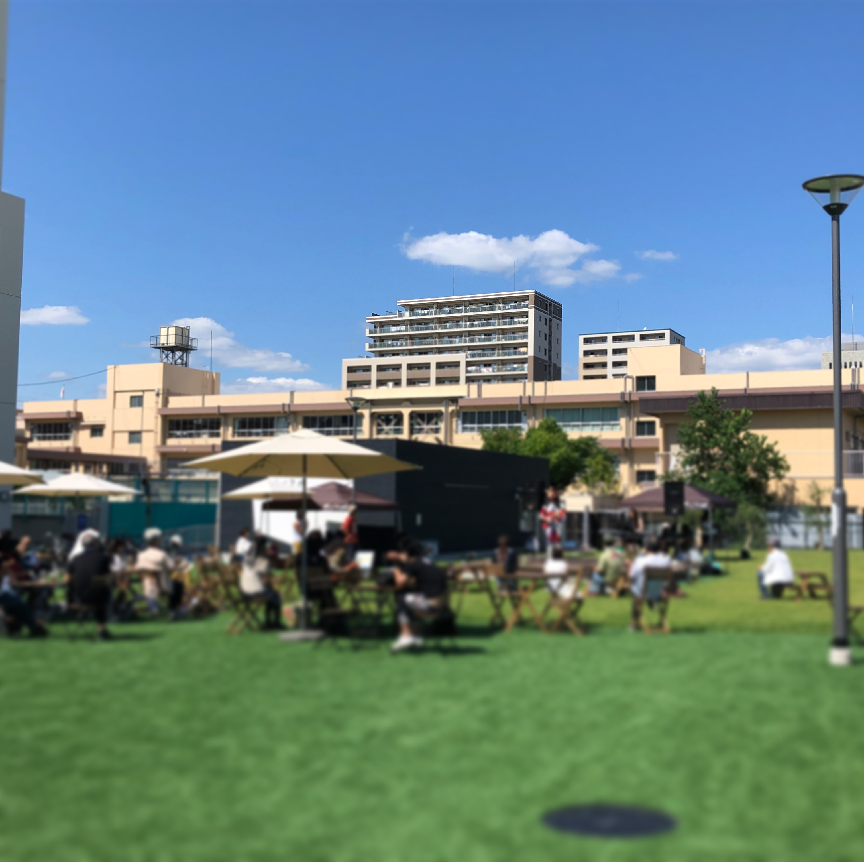 0921芝生広場