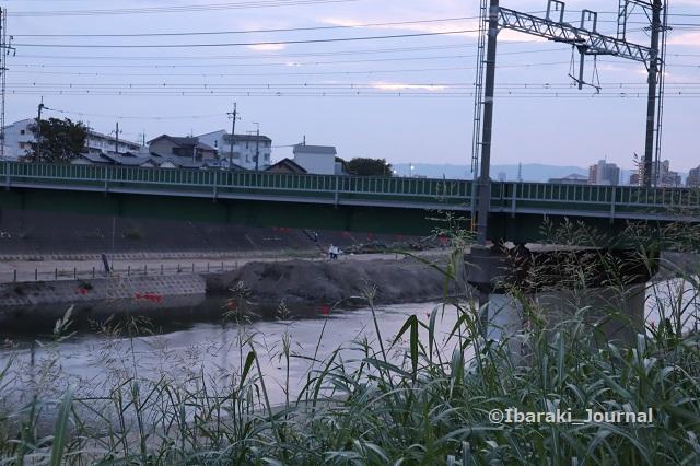 0918千歳橋のそばも工事IMG_4570