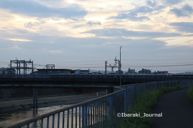 0918千歳橋と阪急電車IMG_4581
