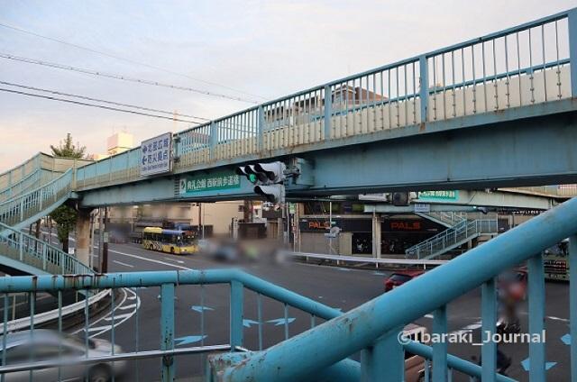 1028西駅前歩道橋風景IMG_5980