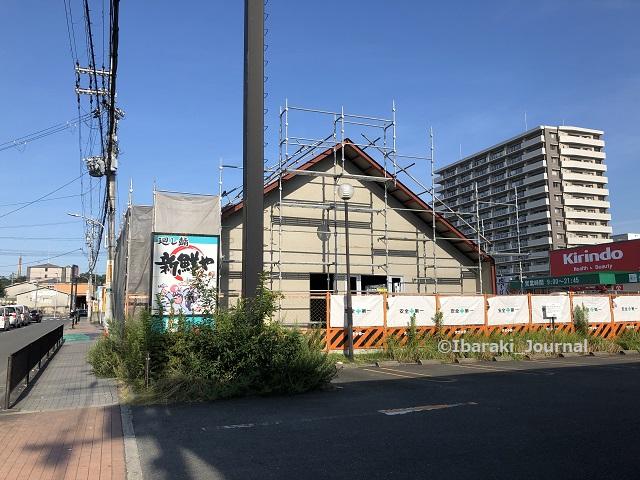 0819キリン堂前の工事を東側からIMG_5946