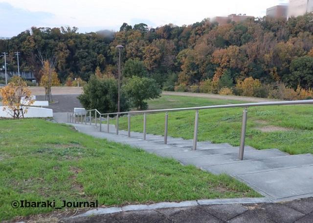 6-1128彩都西公園さらに階段がIMG_7155