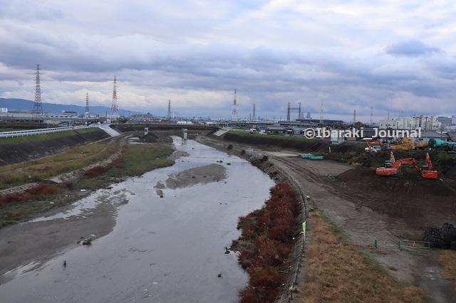 1123-13玉島橋から見た先鉾橋のほうIMG_6909
