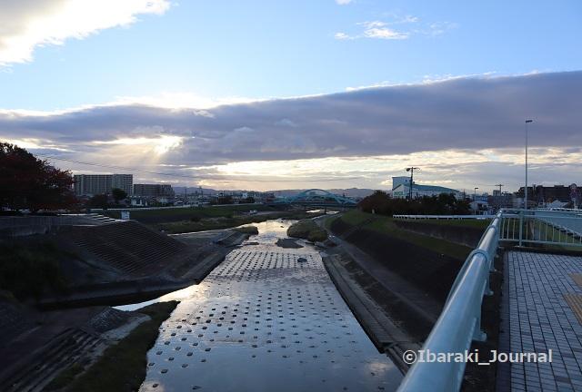1109田中大橋から茨木川合流のところIMG_6514