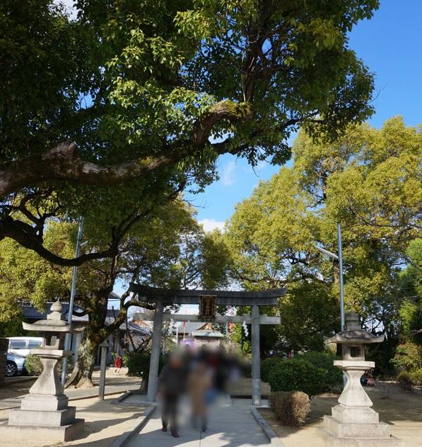 201601佐奈部神社境内風景DSC06497